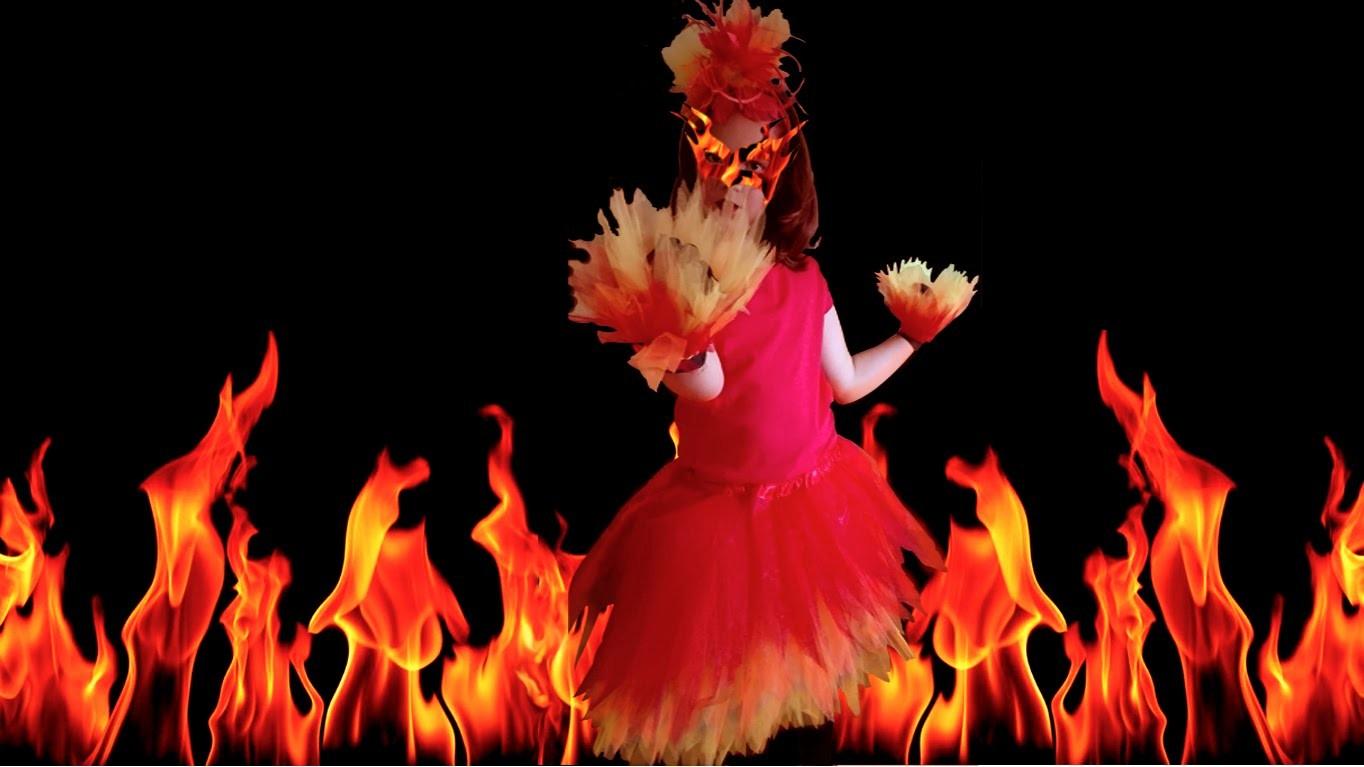 DIY ROPA: TUTORIAL disfraz de fuego infantil
