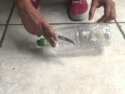DIY: Terrario con botellas de plástico