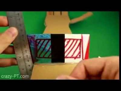 Mano robotica de cartón DIY