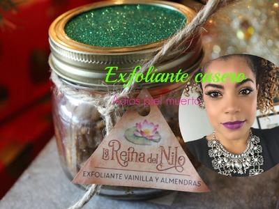 NO MAS PIEL SECA |Exfoliante de vainilla y almendras