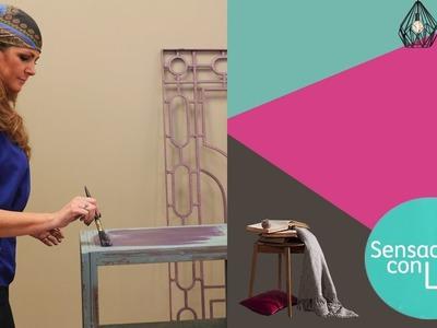 Sensaciones con Luz: Dale color a tus muebles metálicos