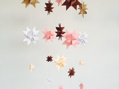 Tutorial Estrella Froebel o Estrella de Moravia con papel