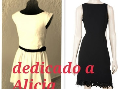 Tutorial:MODELOS DE JACKIE KENNEDY,corte y confeccion