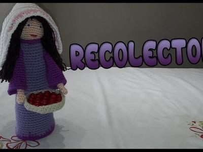 Belén de Navidad | Recolectora a crochet