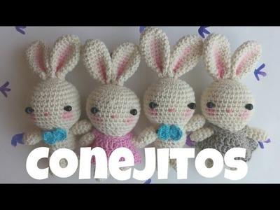 Conejitos a crochet (bunny)
