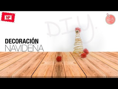 Decoracion navideña DIY con MP