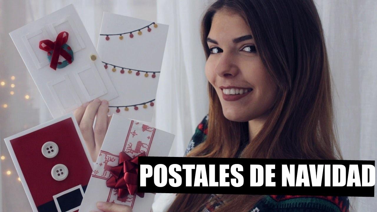 DIY: 10 POSTALES DE NAVIDAD