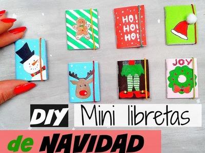 DIY Mini Libretas de Navidad - Lista de Deseos para Navidad | Ideas de Regalos