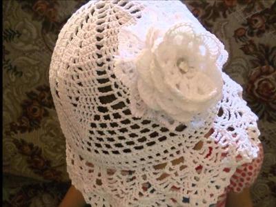 Gorros para niña tejidos a crochet
