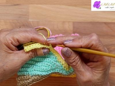 Mitones paso a paso Crochet 2 de 2-- Crochet Mittens
