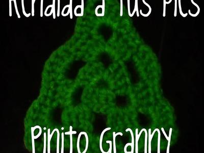 Pinito Granny a crochet.