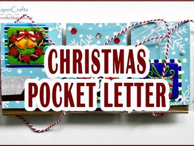 Pocket Letter Navideño | Idea de Regalo Fácil y Rápido | Tutorial DIY | Luisa PaperCrafts