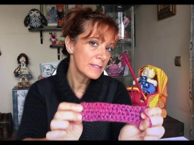 Taller de iniciación al crochet. 3ª parte