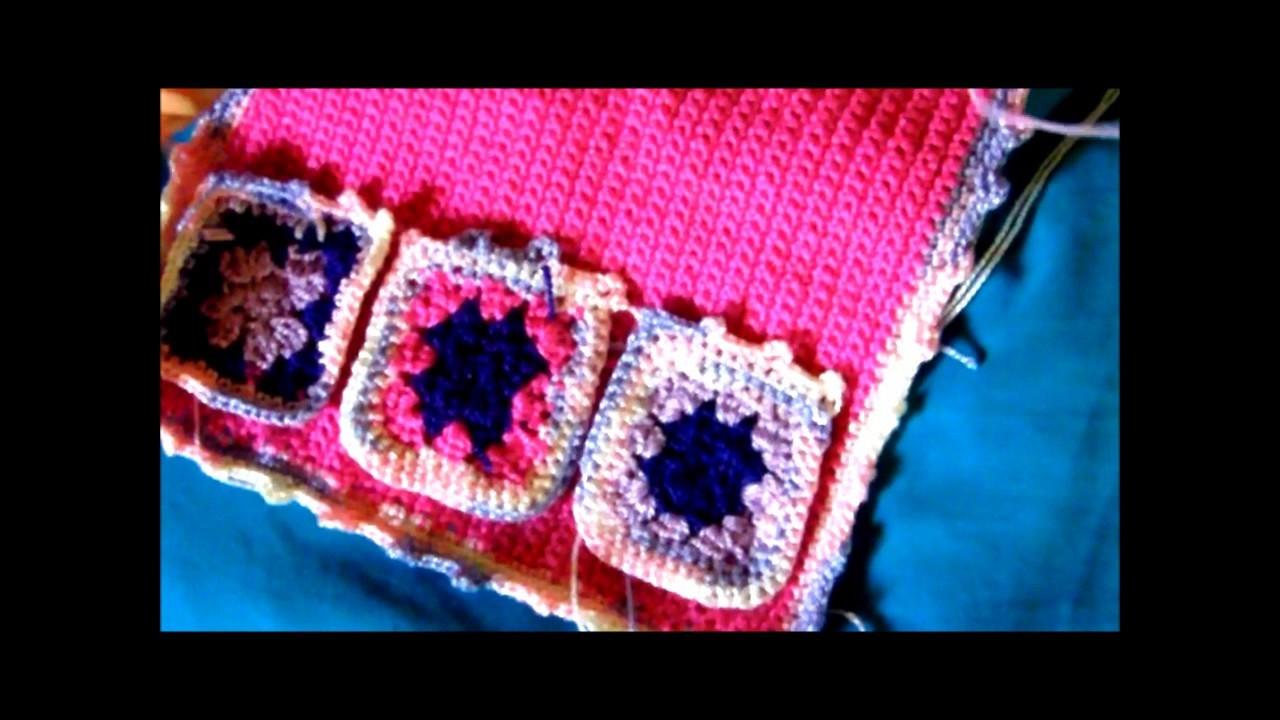 Tutorial de organizador para cuarto de niña en crochet, Video 1 de 3
