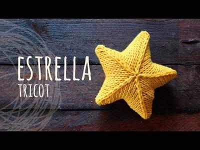 Tutorial Estrella 3D Tricot | Palitos