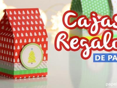 Cajas de regalo originales, tetrabrik fácil y rápido - Manualidades