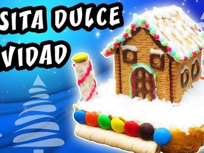 CASITA DULCE NAVIDAD de Chocolate, galletas y dulces. DIY Navidad | Manualidades aPasos