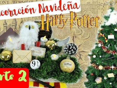 Decoraciones para tu árbol de Navidad HARRY POTTER | Parte 2 | DIY NAVIDAD