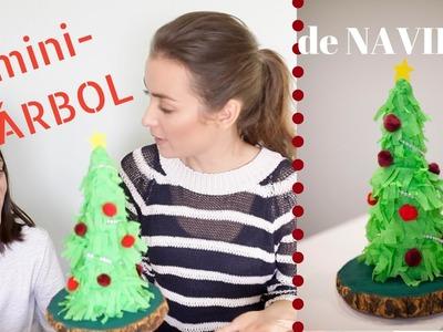DIY Árbol de Navidad | Manualidades con niños