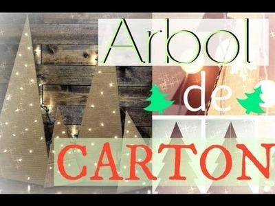 DIY ARBOL DE NAVIDAD RECICLADO | Marialis