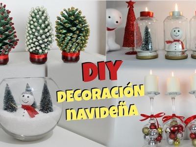 DIY | DECORACIÓN DE NAVIDAD | 4 IDEAS | NatyGloss