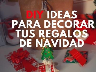 DIY Ideas originales para envolver tus regalos de Navidad