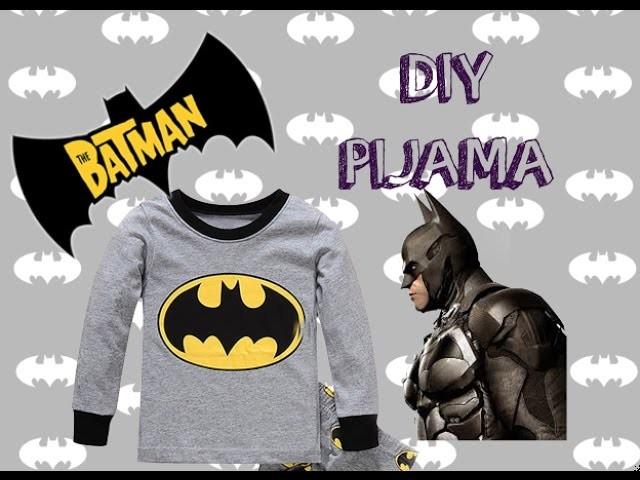 DIY Pijama de Batman