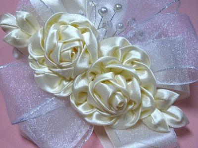 #DIY -Tiara dos rosas # Dy tiara Dos Rosas
