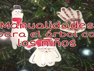 Manualidades para el Árbol de Navidad con los Niños