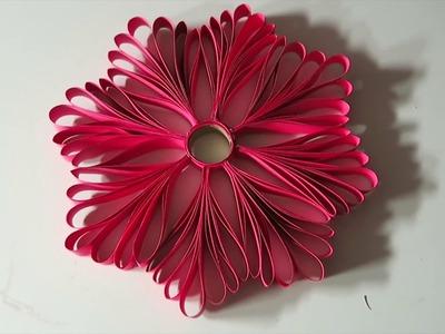Adornos navideños | COPO DE NIEVE DE PAPEL.  How to make paper snowflakes.