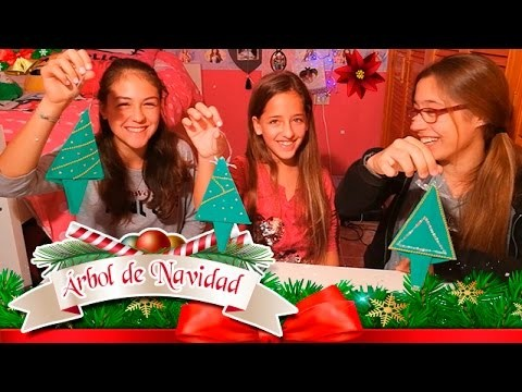 Arbol de Navidad - Manualidades de Navidad - Tarjeta de felicitación
