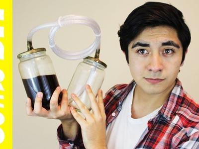 Cómo hacer una cafetera de vacío Tutorial DIY Por menos de 100 pesos