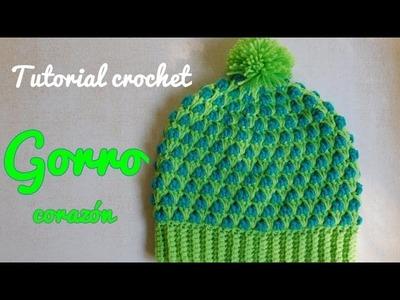 Como tejer un gorro a crochet en varios talles