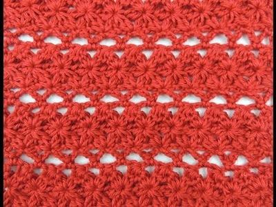 Crochet: Punto Combinado # 16