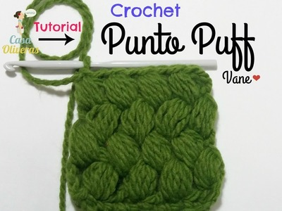 Crochet: Punto Puff o Garbanzo