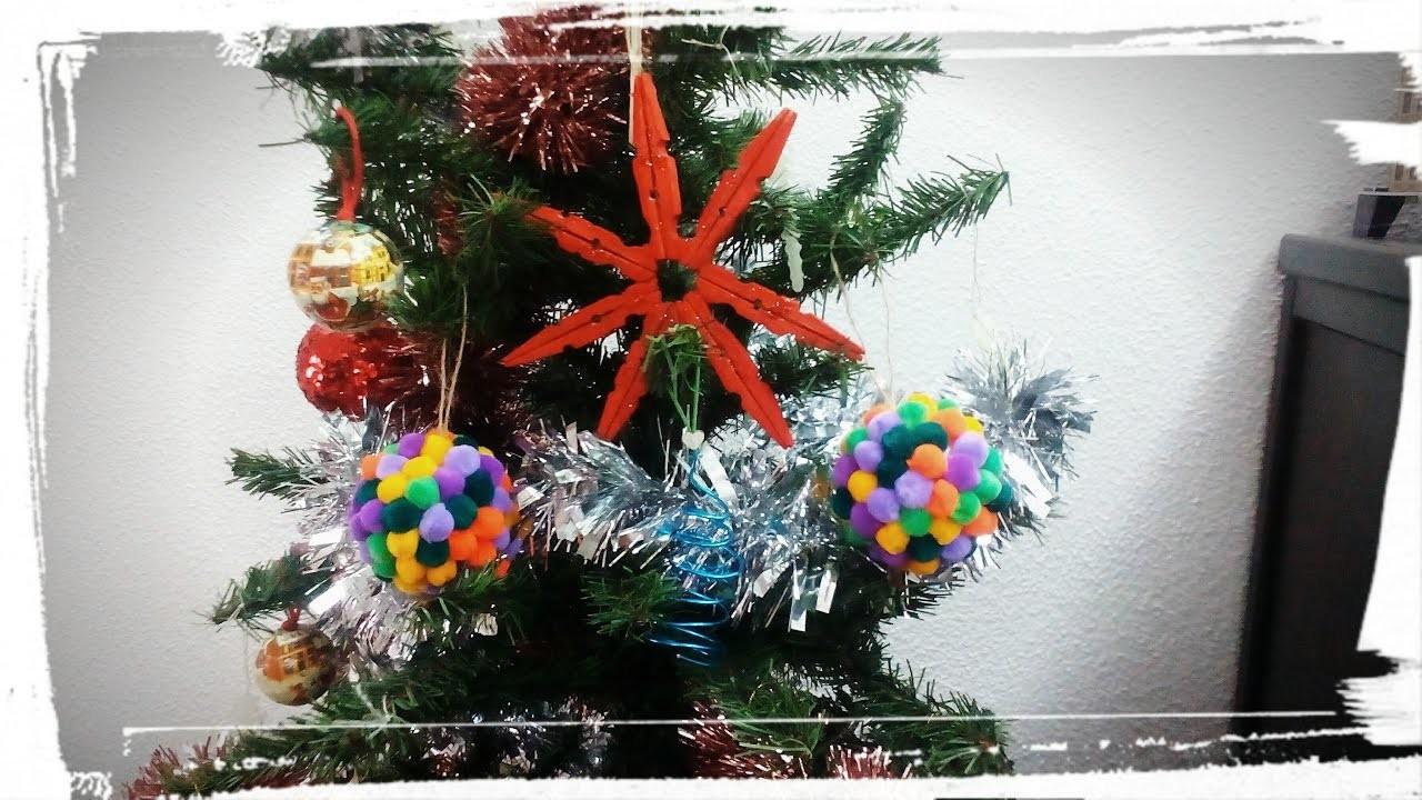 DIY: Adornos para el árbol de navidad