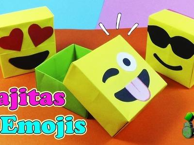 DIY Cajas Emojis