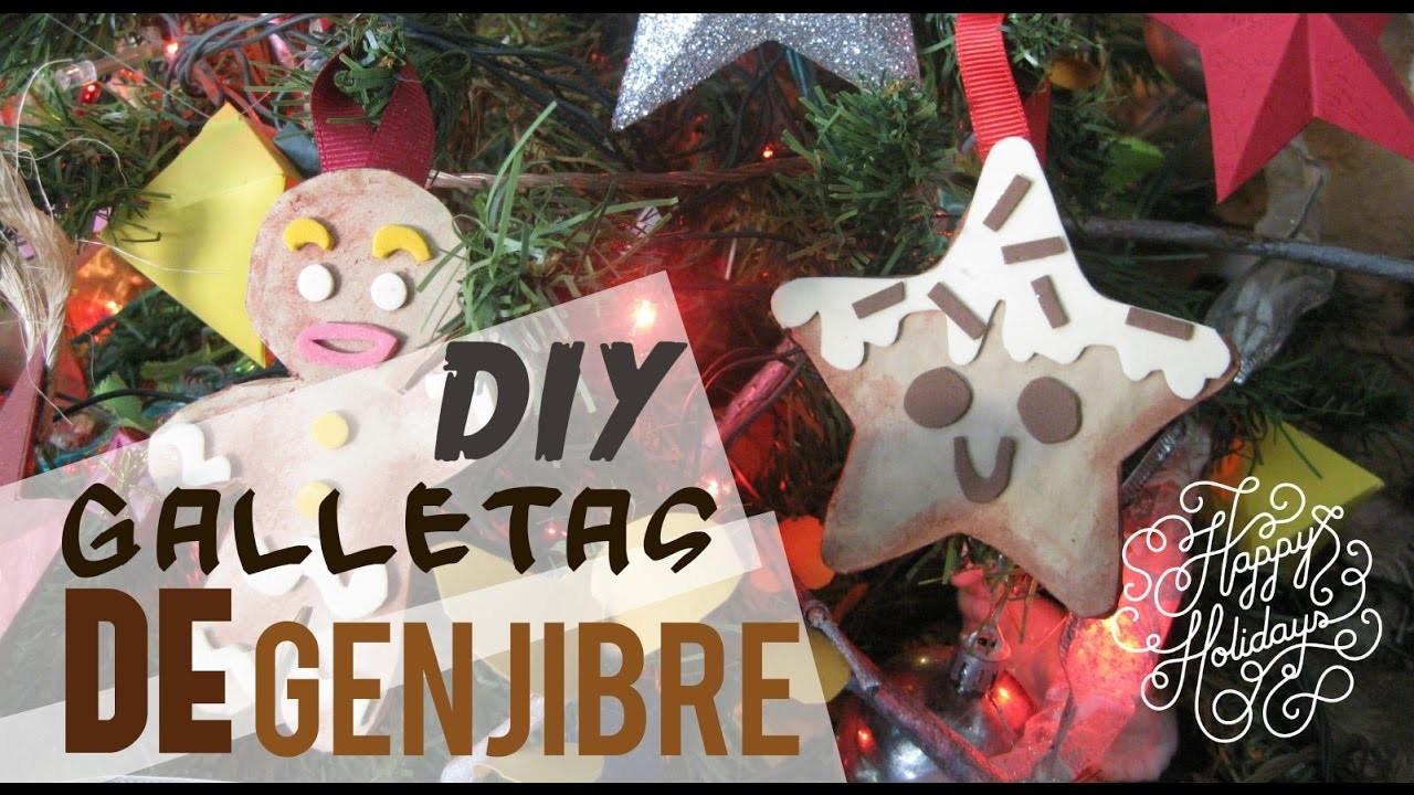 DIY decora tu árbol de navidad | Galleta de jengibre Craft