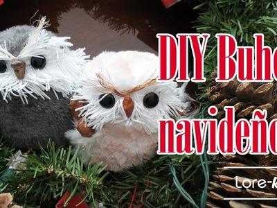 DIY Decoración de Búhos para Navidad