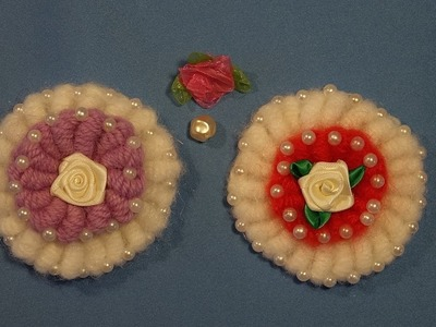 Flor en punto rococo a crochet. how to crochet a flower with rococo stich