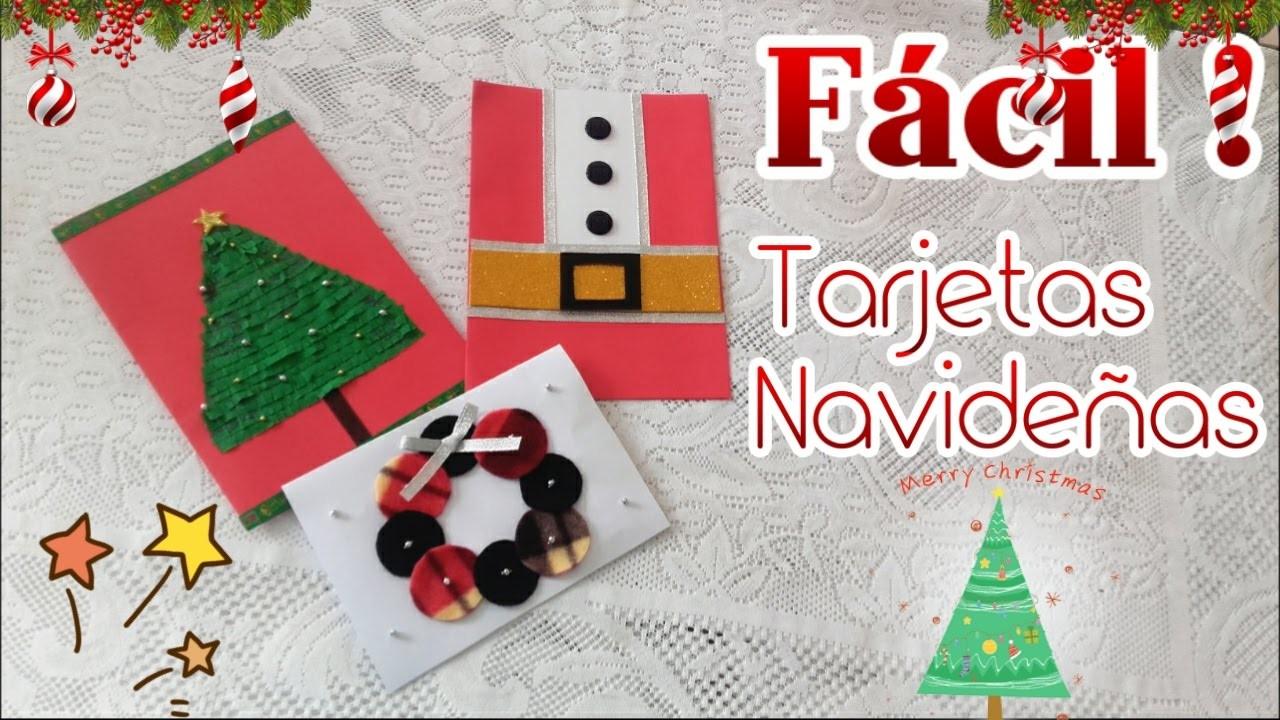 Tarjetas Navidenas Manualidades Navidenas - Tarjetas-navideas-manualidades