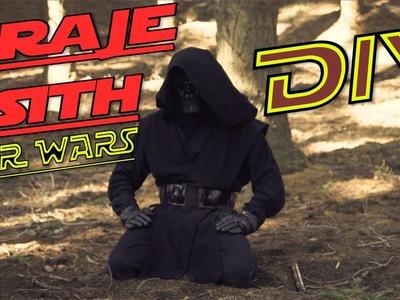 TRAJE SITH - STAR WARS - DIY Fácil