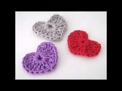 Tutorial fácil de hacer: Corazón a Crochet