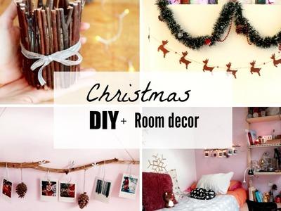 5 DIY navideños + Decorando la habitación! || Paulabrookie