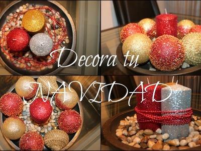 Decoración de Navidad. DIY, tips navideños.