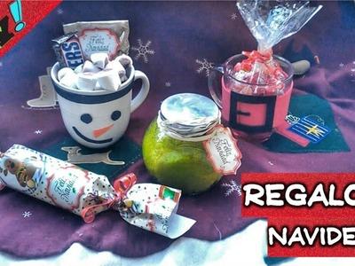 DIY ❤ 4 regalos fáciles y económicos para navidad