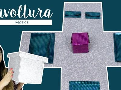 DIY COMO ENVOLVER REGALOS DE FORMA ORIGINAL. IDEAS PARA ENVOLVER REGALOS DE NAVIDAD - Hablobajito