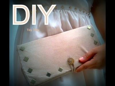 DIY: Cómo hacer una bolsa de mano?