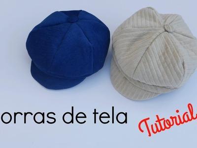DIY : Cómo hacer una gorra de tela