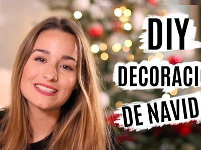 DIY Decoración para Navidad | Xmas Room Decor #AyudantesDeLaNavidad